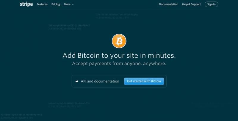 Add Bitcoin to your site in minutes. Accept payments from anyone, anywhere.